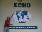 """Este es el lema """"Combatiendo el hambre en el mundo"""""""